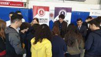 TED Samsun Koleji Öğrencilerinden Samsun Üniversitesi'ne Yoğun İlgi